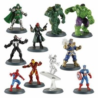 Marvel Heroscape figures