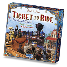 TTR Card Game box